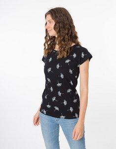 """Bio T-Shirt """"Lea Ginko black""""  - Zerum"""