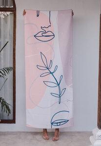 Strandtuch & Handtuch für Reisen und Yoga - Simplicity - Isle of Mind
