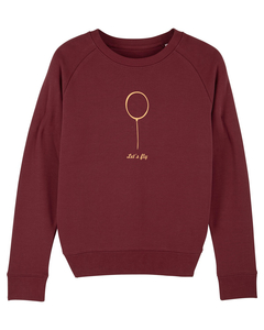 "Damen Sweatshirt aus Bio-Baumwolle ""Ballon"" - University of Soul"