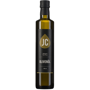 JC Olivenöl - 500ml Flasche - BIO Olivenöl Nativ Extra in Premium Qualität - Griechenland, Kalamata (PDO) - JC Olivenöl