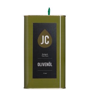 JC Olivenöl - 3 Liter Kanister - BIO Olivenöl Nativ Extra in Premium Qualität - Griechenland, Kalamata (PDO) - JC Olivenöl