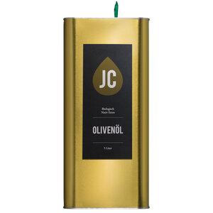 JC Olivenöl - 5 Liter Kanister - BIO Olivenöl Nativ Extra in Premium Qualität - Griechenland, Kalamata (PDO) - JC Olivenöl