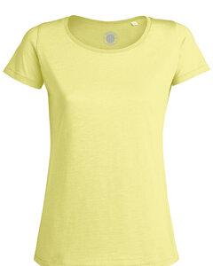 "Damen T-Shirt aus Bio-Baumwolle ""Amy Slub"" - University of Soul"