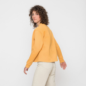 Organic Cropped Sweatshirt - Rotholz