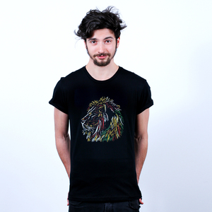 Kalahari Calling - Männershirt Bio mit Print - Coromandel