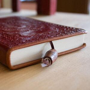 Fair trade Notizbuch aus Leder A5 - Only Natural