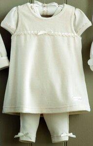 Trägerkleid Set aus GOTS zertifizierter Baumwolle - Art-Natur