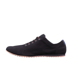 '53 Black + Blue Baumwoll Sneaker - SORBAS