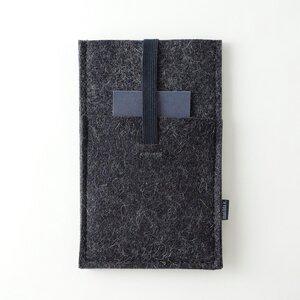 Handyhülle mit Einstecktasche 'emil'  aus Filz  - matilda k. manufaktur