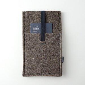 Handyhülle mit Einstecktasche 'emil' aus Filz (bis iPhone 11) 4 Farben - matilda k. manufaktur