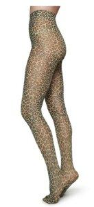 Sofia Leo Strumpfhosen schwarz, braun - Swedish Stockings