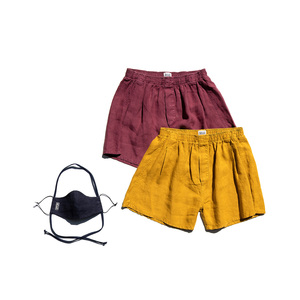 Boxer Shorts - Kunta - 2'er Bundle inkl Maske - MÁ Hemp Wear