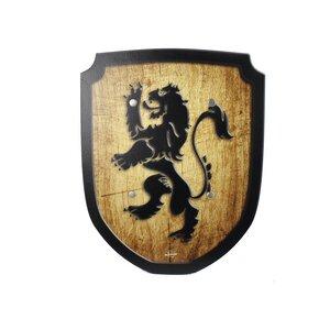 Wappenschild Löwe, Holzspielzeug  - Mitienda Shop