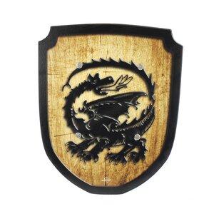 Wappenschild Drache Holzspielzeug  - Mitienda Shop