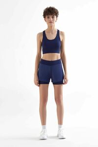 Damen Workout-Shorts aus recyceltem Polyester Sport-Shorts T1340 - True North