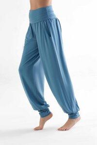 Damen Yogahose in 4 Farben aus Lyocell  Hose mit Taschen Pants T1320 - True North