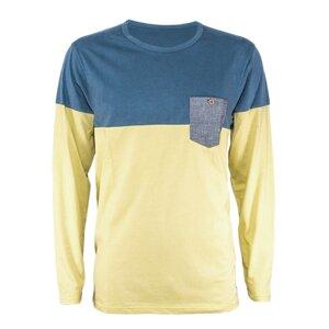 pocket LS blue/bamboo - bleed