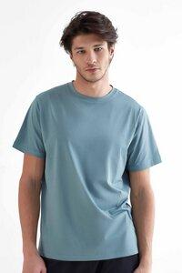 Herren Kurzarm Shirt aus Bio-Baumwolle Rundhalsausschnitt T-Shirt 2100 - True North