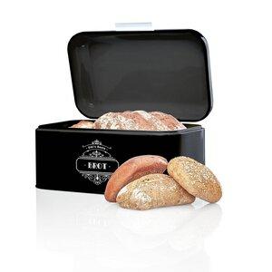 Brotbox / Brotkasten aus Metall mit flachem Deckel in 4 Farben - Skojig