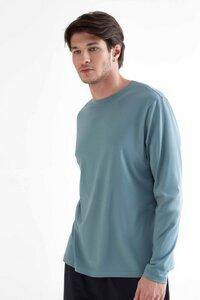 Herren Langarmshirt aus Bio-Baumwolle Rundhalsausschnitt T-Shirt 2110 - True North