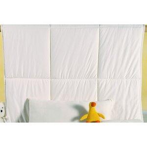 Schurwolldecke MIRA für den  Sommer  in Jerseybezug 100 x 135 cm  - Prolana