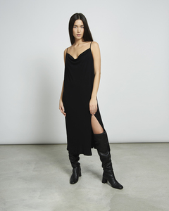 Midi Kleid HELEN black - JAN N JUNE