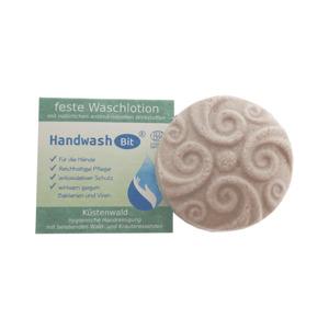 HandwashBit - feste Waschlotion Küstenwald  |  in Schachtel 60g - Rosenrot Naturkosmetik