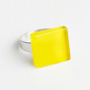 Minimalistischer Ring aus Glas, klein | PUREFORM - ALEXASCHA