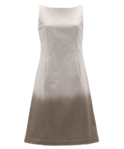 Popeline Dress taupe - Alma & Lovis