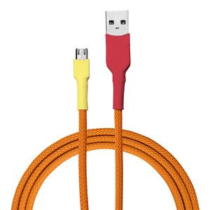 USB-Ladekabel von recable | Farbvariante Flammenlaubvogel - Recable