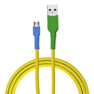 USB-Ladekabel von recable | Farbvariante Gelbbrustara - Recable