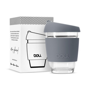Kaffeebecher Glas to-go 340ml - Doli