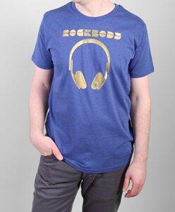 Headphone Herren T.Shirt kurzarm Bio Baumwolle kbA - ROCKBODY