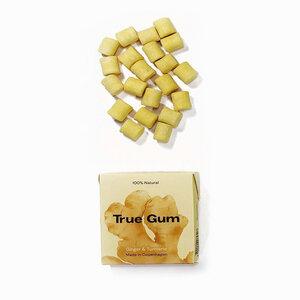 Ingwer Kurkuma Kaugummi von True Gum - True Gum