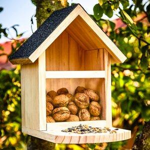 Futterstelle | Futterhaus zum füttern von widllebenden Eichhörnchen - Skojig