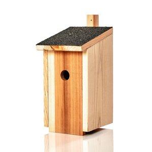 Nistkasten für Maisen aus Naturholz : wetterbeständige Nisthilfe | Brutkasten - Skojig