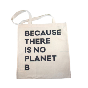 "HALM Jute Beutel ""Because there is no Planet B"" - HALM"