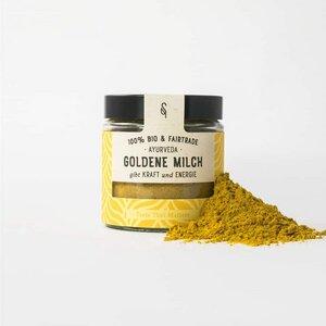 Goldene Milch Gewürzmix für Getränke 50g Bio - SoulSpice