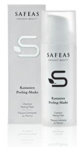 Safeas Kastanien Peelingmaske - Safeas
