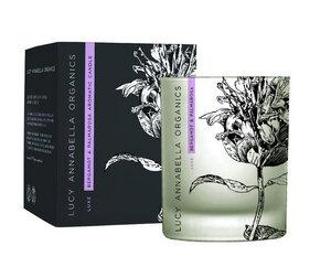 Luxe Aroma-Kerze Bergamott & Palmarosa - Lucy Annabella Organics