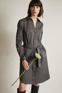 Hemdblusenkleid (GOTS) aus Bio-Baumwolle - LANIUS
