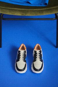Sneaker aus vegetabil gegerbtem Leder - LANIUS