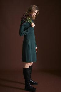 Kleid aus TENCEL Lyocell mit Bio-Baumwolle - LANIUS