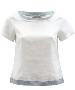 Ramie Top white - Alma & Lovis
