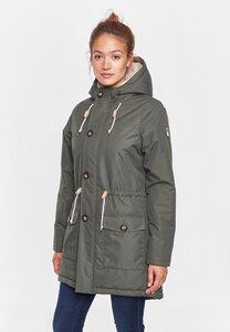 "Damen Winterjacke aus recycled Polyester ""FF"" - derbe"