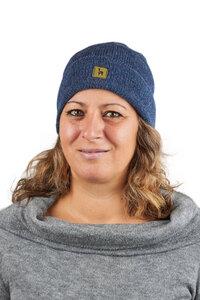 Alpaka Mütze Berlin Federgewicht Uni 100% Alpaka FS One Size für Damen und Herren für Größen S-L - AlpacaOne