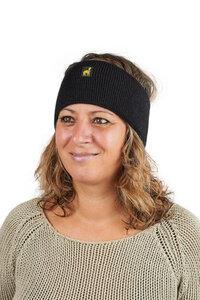 Alpaka Stirnband Malbun für Damen und Herren 100% Baby Alpaka Größe S-XL - AlpacaOne