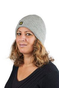 Alpaka Mütze Ripp Uni 100% Baby Alpaka für Damen und Herren Größe S-XL von AlpacaOne - AlpacaOne