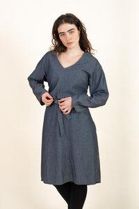 Kleid Samooh Jeansblau - Jyoti - Fair Works