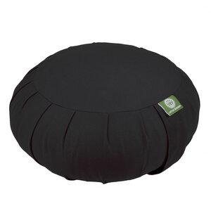 Meditationskissen ZAFU-ZEN Lotus Design® - Füllung Bio-Buchweizenschalen oder Kapok - Lotus Design